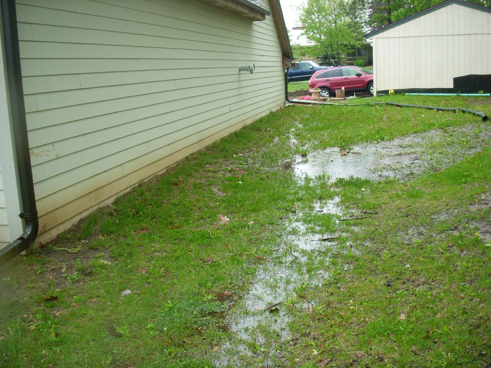Pinnacle home inspections our blog for nj home buyers for Home drainage issues
